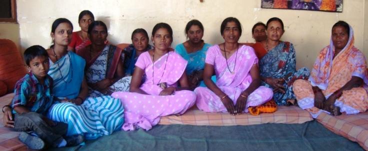 group of vidarbha farm widows